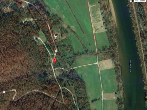Wooded Lot With Bluff Views : Mountain View : Stone County : Arkansas