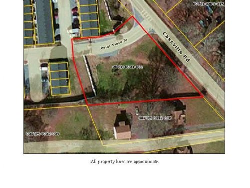 .827 Acre Commercial Lot : Cartersville : Bartow County : Georgia