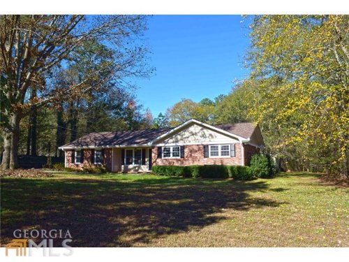 4 Sided Brick Ranch On 4.43 Acres : Loganville : Walton County : Georgia