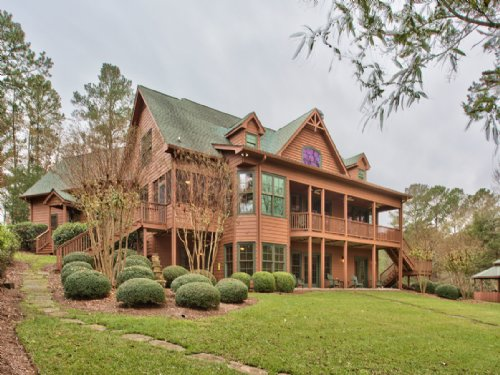 Lakeside Custom Estate Home : Buckhead : Morgan County : Georgia