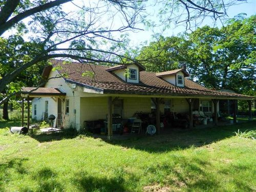 3 Bed Home On 4.7 M/l Acres : Tahlequah : Cherokee County : Oklahoma