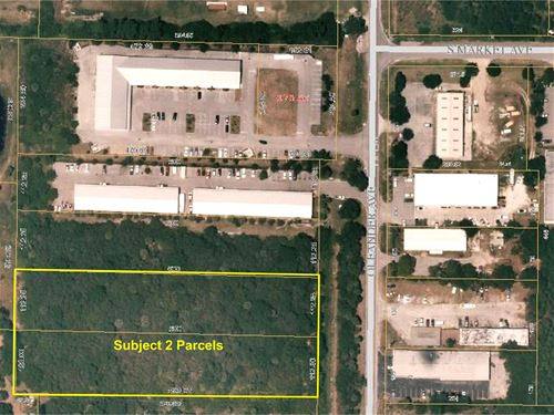3.17 Ac Lt Industrial Site, 2 Lots : Fort Pierce : Saint Lucie County : Florida
