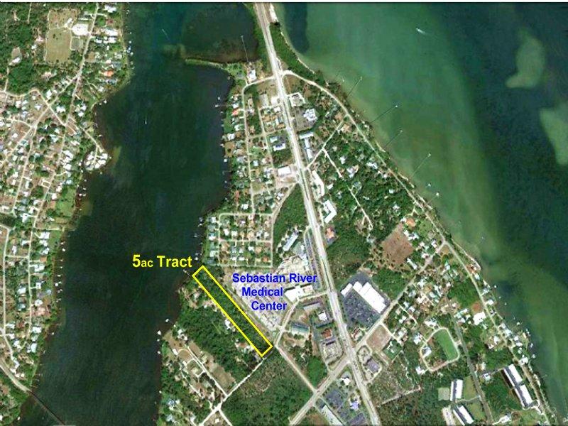5ac Waterfront Development Site Lot For Sale Sebastian