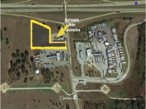 2.4 Acres Commercial Land Off I-4 : Polk City : Polk County : Florida