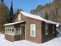 Cabin Bordering West Canada Lakes : Morehouse : Hamilton County : New York