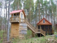 Cabin And Treehouse Well Septic
