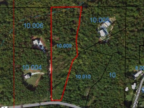 6.693 Acre Homesite Co Rd 5 : Ashland : Clay County : Alabama
