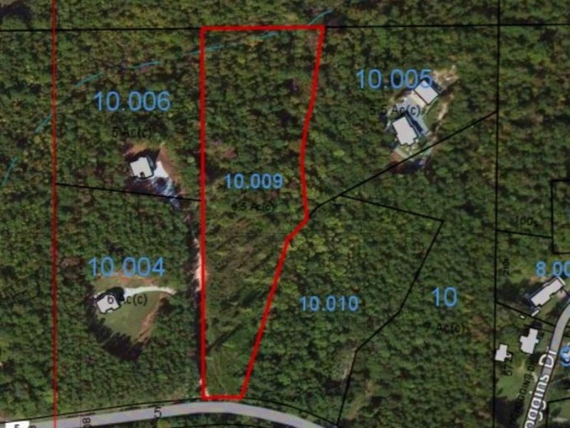 6.693 Acre Homesite Co Rd 5 : Ashland : Clay County : Alabama