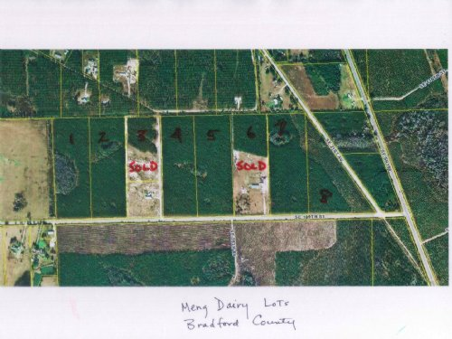 13.9 Acres-lot 5 Meng Dairy : Starke : Bradford County : Florida
