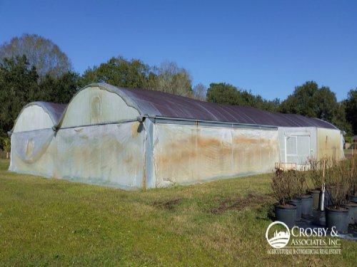 30,600Sf Greenhouse / Nursery : Auburndale : Polk County : Florida