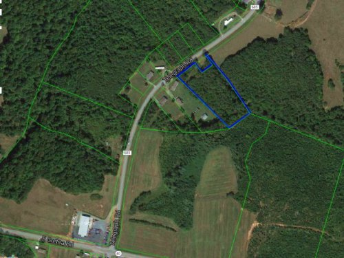 Wooded Lot W/ Homesite Potential : Gretna : Pittsylvania County : Virginia