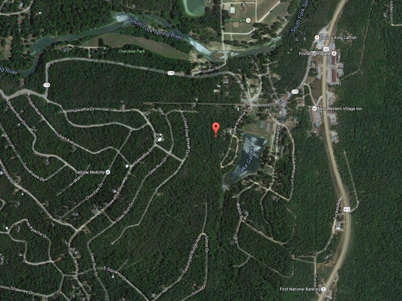 .07 Acres In Cherokee Village, AR : Cherokee Village : Sharp County : Arkansas