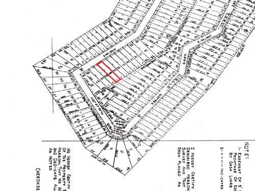 Affordable Land For Sale : Cherokee Village : Sharp County : Arkansas