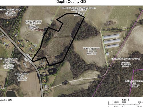 14 Acre Farm : Kenansville : Duplin County : North Carolina