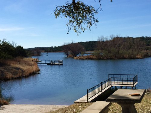 1+ Scenic Waterfront Acres : Bluff Dale : Erath County : Texas