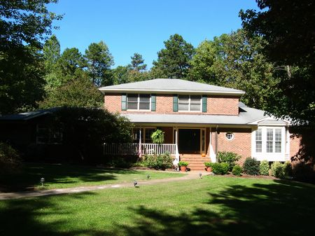Large Home On The 19th Hole : Siler City : Chatham County : North Carolina
