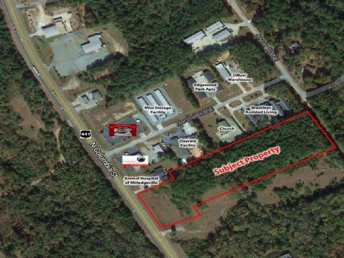 7 Acres On Hwy 441 : Milledgeville : Baldwin County : Georgia