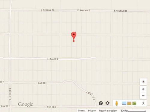 .9 Acre Vacant Lot For Sale : Palmdale : Los Angeles County : California