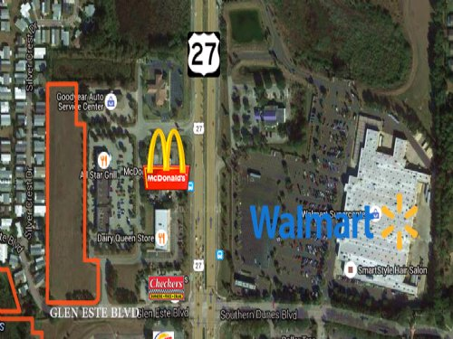 4± Acres Mixed-use Commercial Land : Haines City : Polk County : Florida