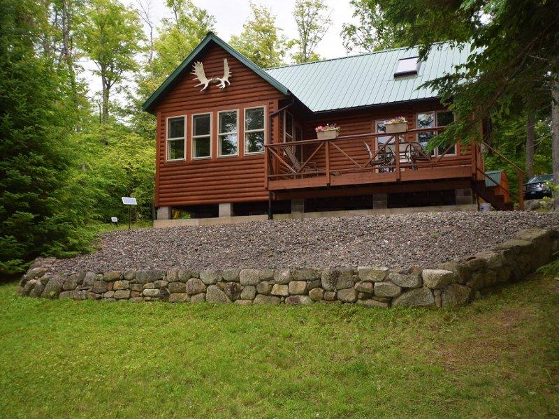 West Grand Lake Log Cabin : Grand Lake Stream : Washington County : Maine