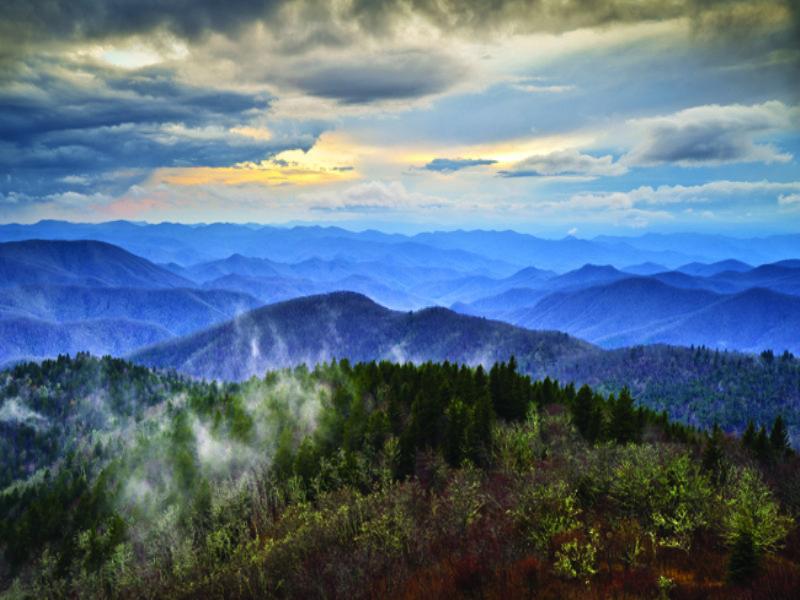 Heart Of The High County Views : Boone : Watauga County : North Carolina