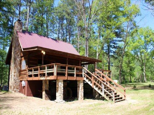 Monroe River Cabin : Forsyth : Monroe County : Georgia