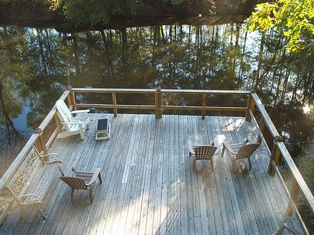 Private River Cabin On 4 Acres : Midville : Burke County : Georgia