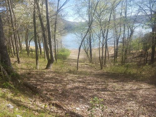 Main Channel Cherokee Lakefront Lot : Mooresburg : Hawkins County : Tennessee