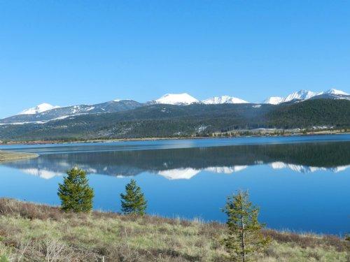 Georgetown Lake Waterfront Spectacu : Philipsburg : Granite County : Montana