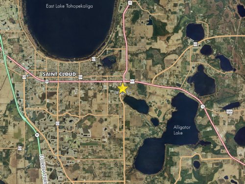 St. Cloud Commercial Land : St. Cloud : Osceola County : Florida