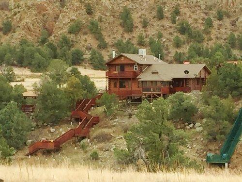 234865 Log Home On The Arkansas Ri : Cotopaxi : Fremont County : Colorado