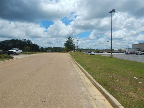2.25 Acres Commercial Adjoins Mall : McComb : Pike County : Mississippi