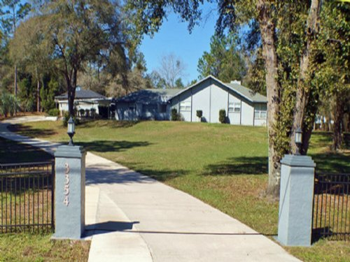 Pool Home 4+ Ac. 1/1 Extra Cottage : Keystone Heights : Bradford County : Florida