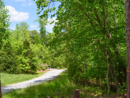 15 Acre Hardwood Estate Site : Spartanburg County : South Carolina