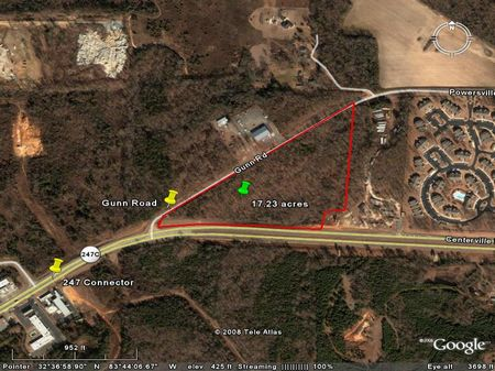 Commercial Land On 247 Connector : Warner Robins : Houston County : Georgia