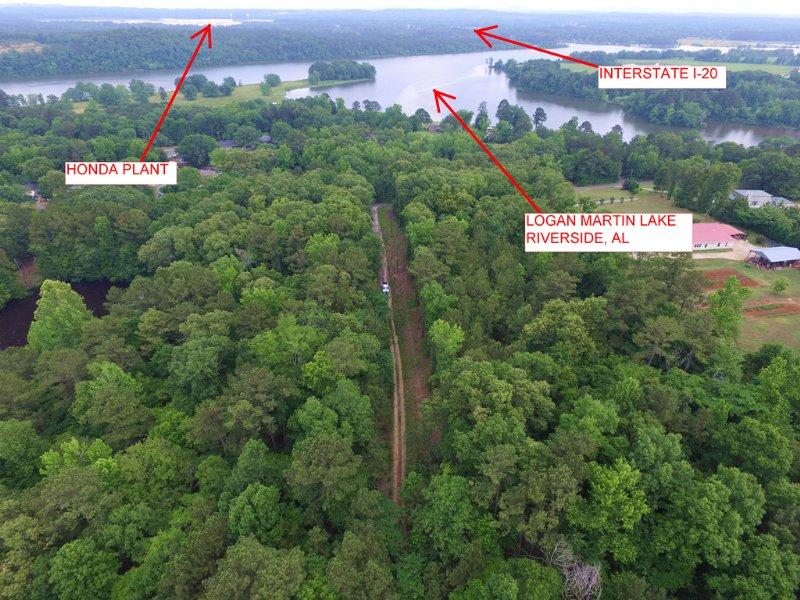 Private Estate Home Site - 18.9 Ac : Riverside : Saint Clair County : Alabama