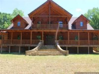 Custom Built Log Home On 12.80 Ac