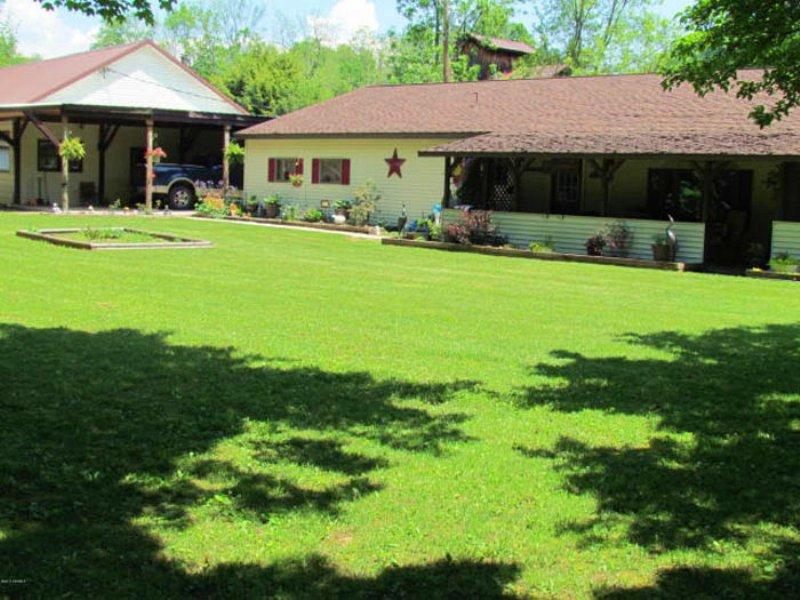 10 Acres, Homes, Peaceful Stream : Orangeville : Columbia County : Pennsylvania