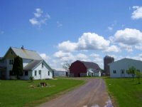 Country Farmette In Central Wi : Arpin : Wood County : Wisconsin
