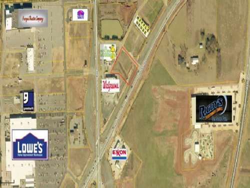 .84 Acre Commercial Lot : Warner Robins : Houston County : Georgia