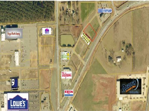 0.70 Acre Commercial Lot : Warner Robins : Houston County : Georgia