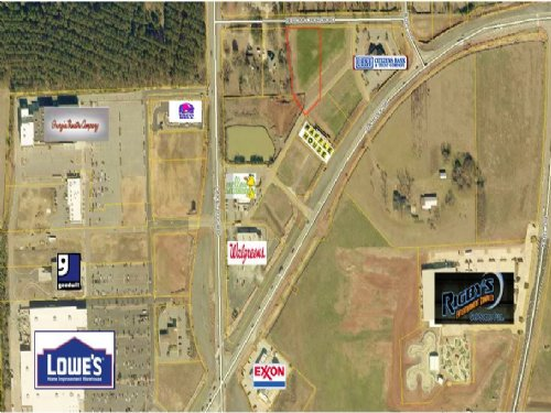 1.27 Acre Commercial Lot : Warner Robins : Houston County : Georgia