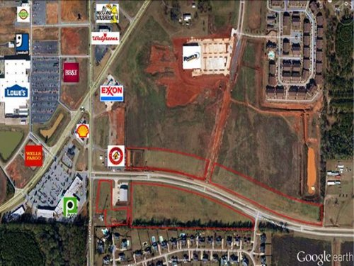 1.72 Acre Commercial Lot : Warner Robins : Houston County : Georgia