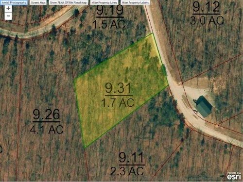 Lot 36 Is A 1.7 Acre Lot : Cedar Grove : Carroll County : Tennessee