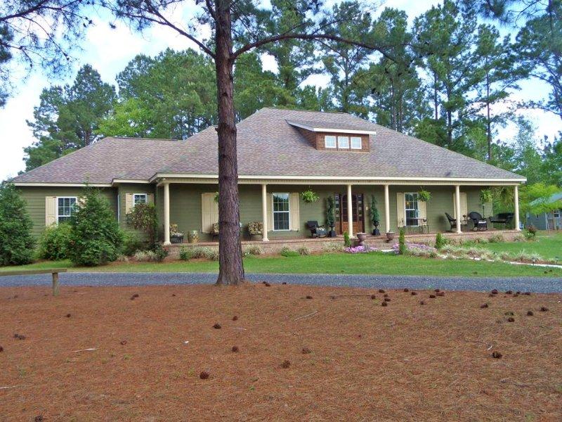 Home, Horse Facility - Constance Rd : Jesup : Wayne County : Georgia