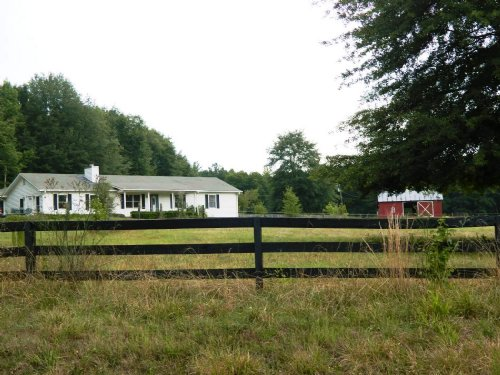 Horse Farm In Lake Oglethorpe : Arnoldsville : Oglethorpe County : Georgia