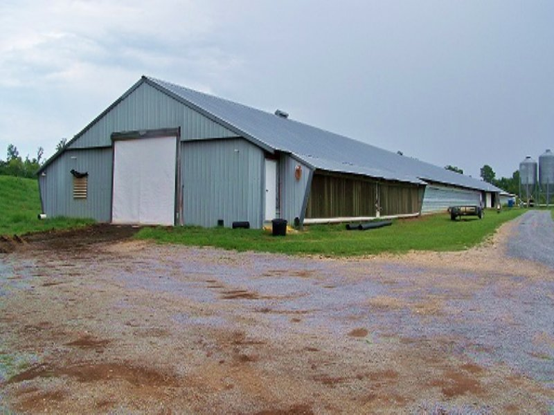 Two House Broiler Farm And Home : Horton : Blount County : Alabama