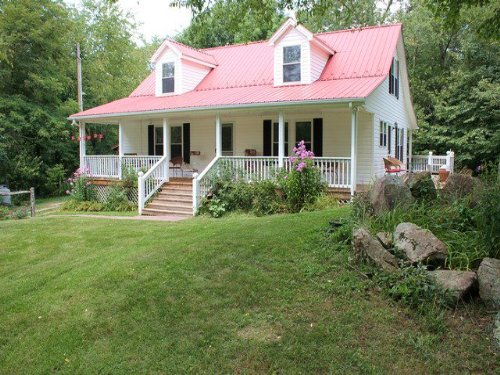 Home In Lovely Setting : Elk Creek : Grayson County : Virginia