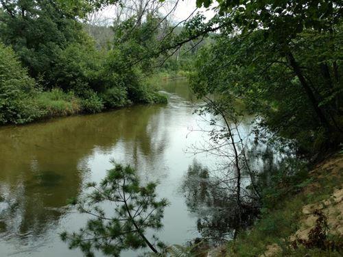 5 Acres On Pere Marquette River : Custer : Mason County : Michigan