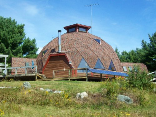 Great Pond Home On 18.9 Acres : Franklin : Hancock County : Maine